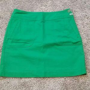 Just In!! Banana Republic Green Mini Skirt